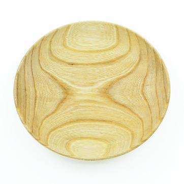 木のお皿(オリーブオイル仕上げ)